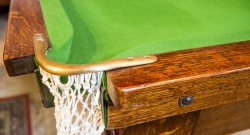 Antique Snooker Tables at Brown's Antiques Billiards and Interiors.