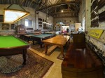 Brown's Antiques Billiards and Interiors workshop
