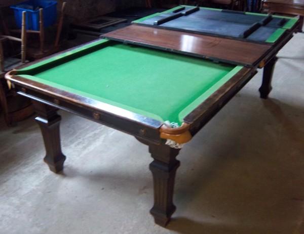 7ft Riley Antique Snooker Diner Snooker Dining Table