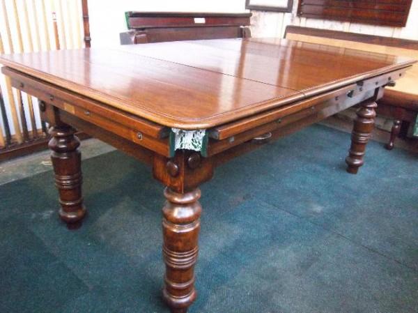 6ft Oak Stevens Antique Snooker Diner C1900 Stock No
