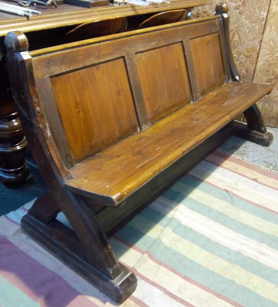 Pitch Pine And Oak Pew C1880 Antique Pews For Sale Browns Antiques Billia