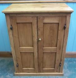 Antique European Pine Cupboard