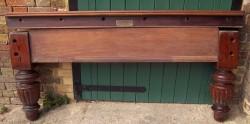 John Taylor full size antique snooker table