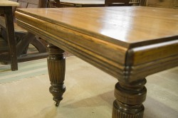 Antique Oak Table. Restored and French polished.