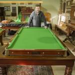 Burgess 7ft rollover snooker diner