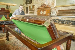 Rollover snooker diner by Burgess