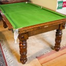 6ft Oak Antique Snooker Dining Table