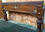 Orme full size antique snooker table