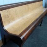 Antique billiards bench