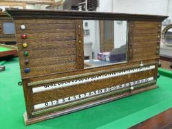 Antique Oak Life Pool Scoreboard