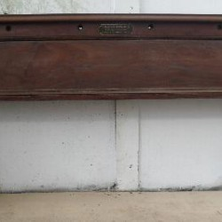 Thomas Mawson antique Full size snooker Table