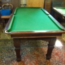 6ft Riley square leg snooker diner in mahogany