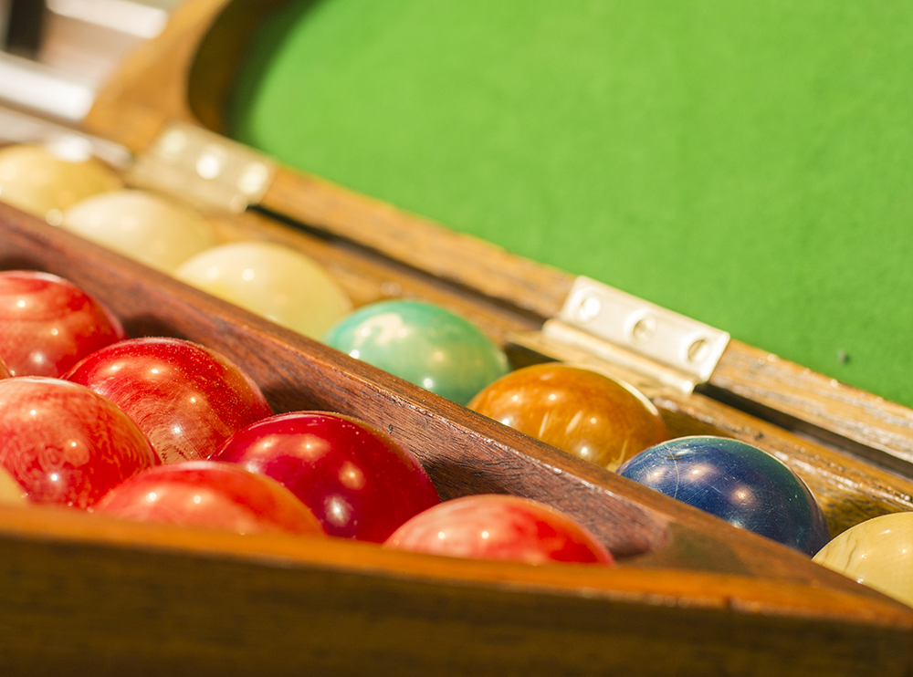 Antique Snooker and Billiards Accessories for sale.