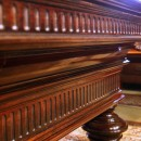 Rosewood, French, Antique Pool Table