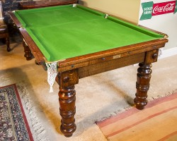 6ft Antique Snooker Dining Table.