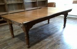 7ft Riley antique snooker diner table in oak