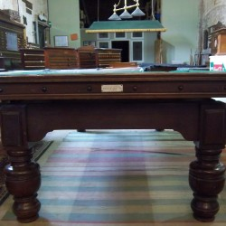 Orme 8ft antique snooker dining table