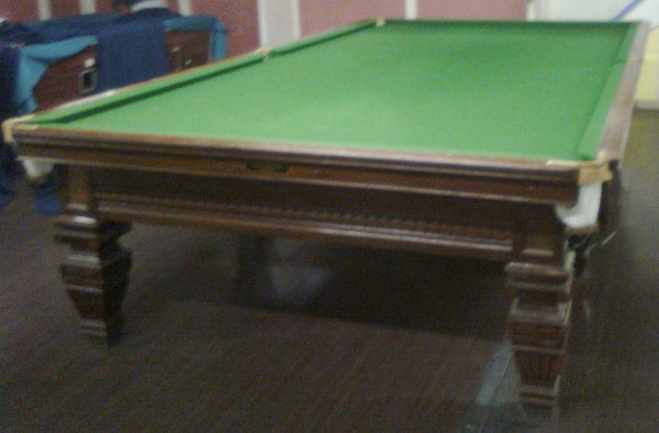 Full Size Antique Snooker Table By Thomas Mawson B400