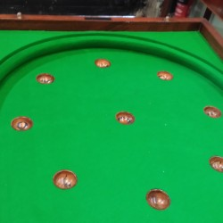 Victorian Bagatelle Table,numbers.