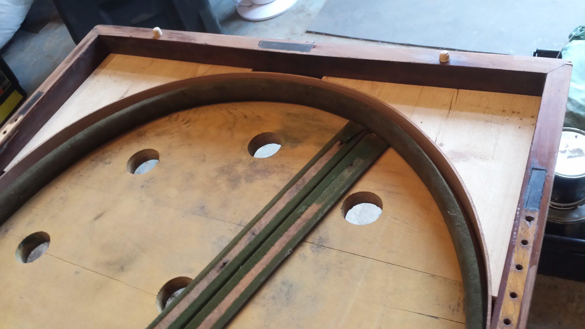 Antique Folding Bagatelle Table 7 Browns Antiques