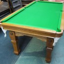 6ft convertible antique snooker diner by Riley