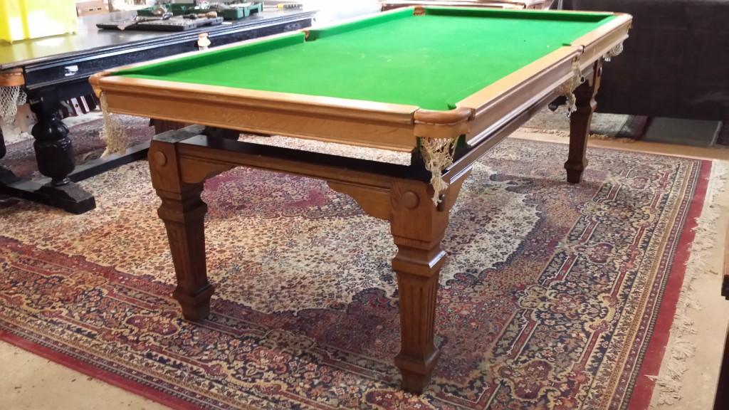 7ft Riley billiard dining table.B514