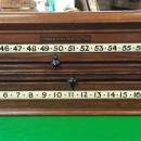 Antique rollerboard scoreboard.Orme & sons Manchester.