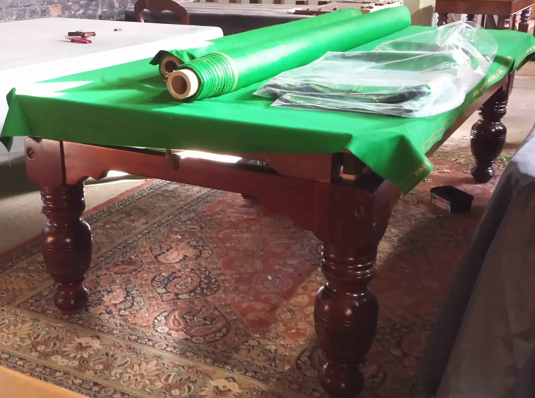 antique snooker table restoration we restore your table browns rh brownsantiques co uk pool table restoration parts pool table restoration brisbane