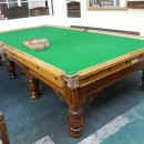Full size John Taylor antique snooker table