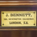 J Bennett snooker table name badge