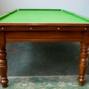Riley round leg antique snooker table 8ft