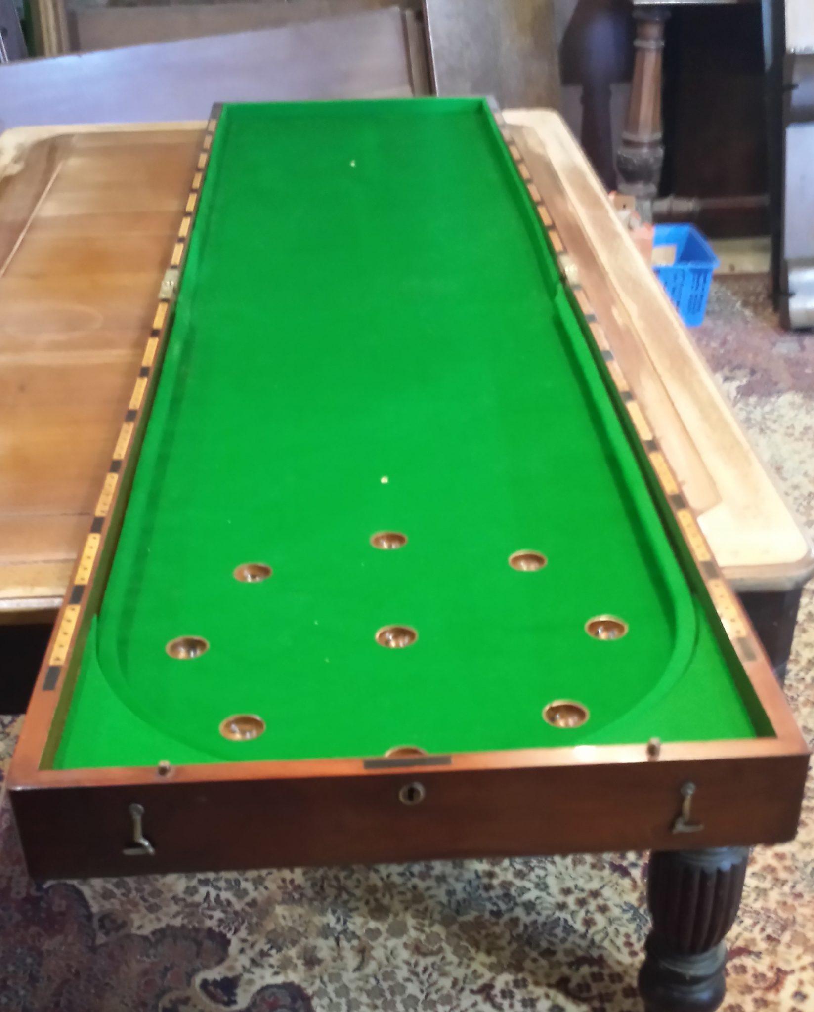 Antique Bagatelle Tables News Browns Antiques Billiards