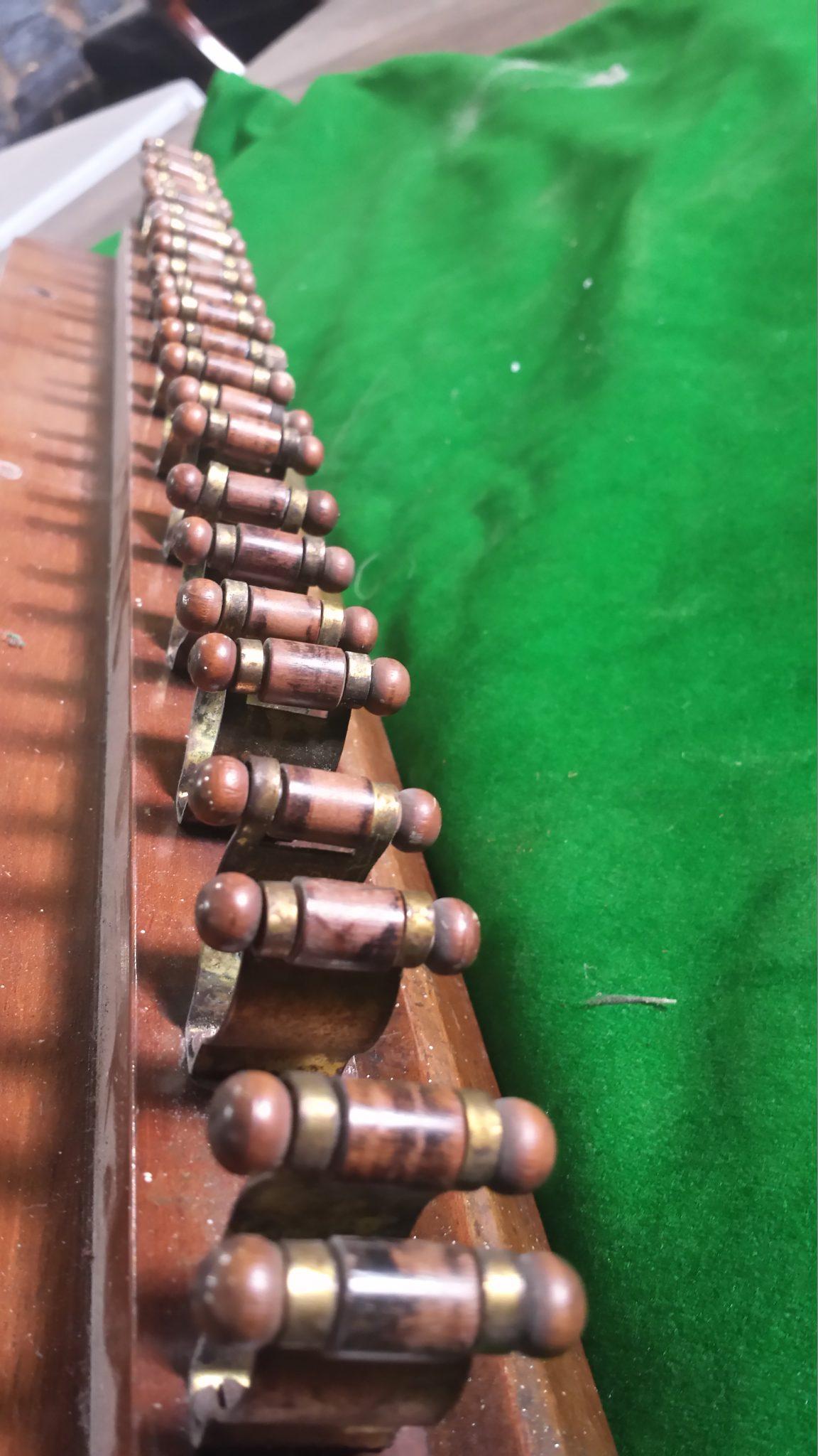 Antique Snooker Cue Rack 12 Clip Browns Antiques