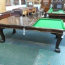 Antique snooker diner in mahogany