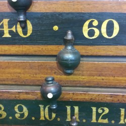 antique snooker scoreboard. Fitzpatrick and Longley (1)
