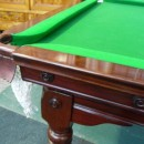 Mahogany Riley antique snooker diner table