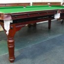 Antique snooker dining table in oak