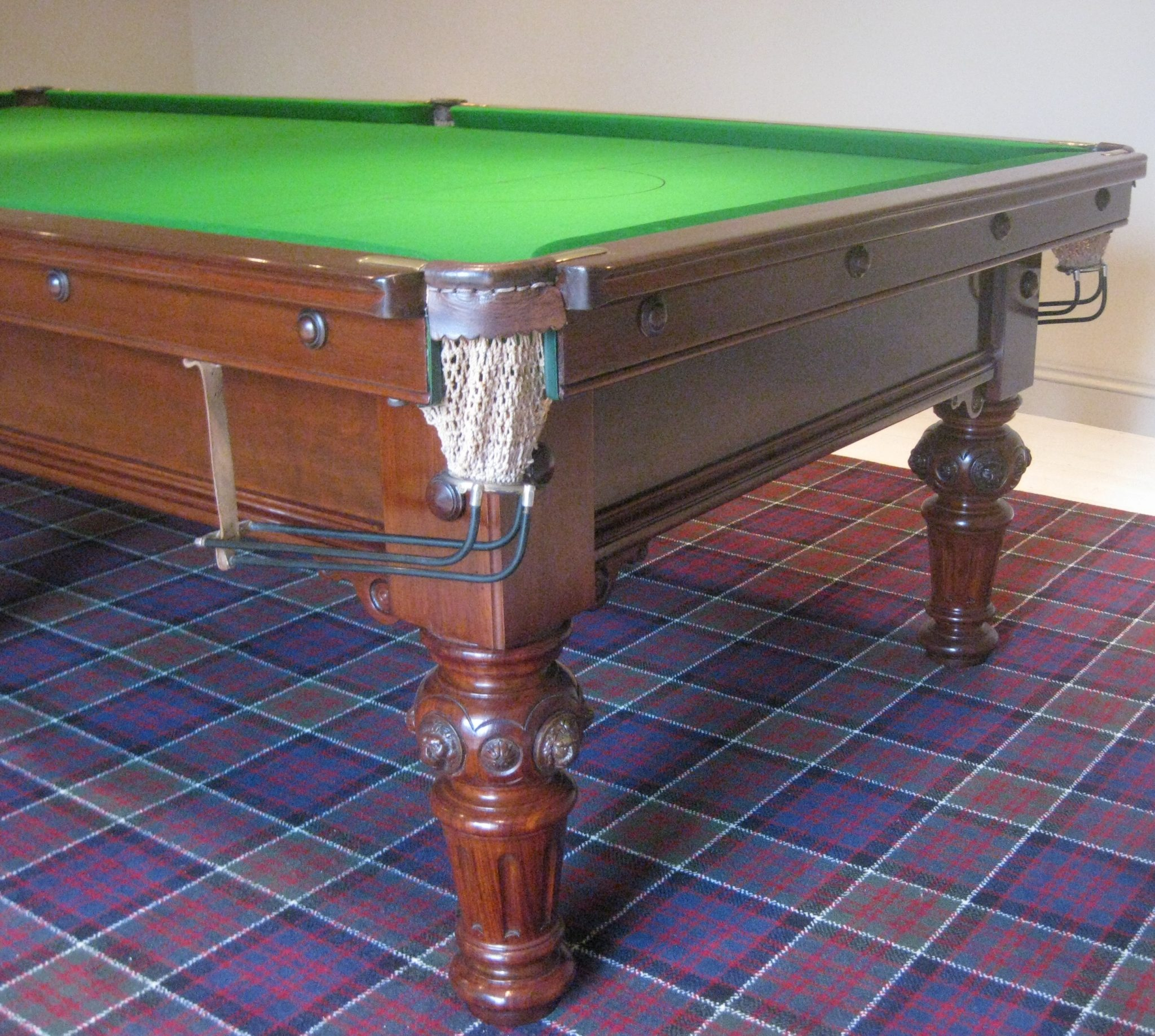 9ft thomas mawson antique mahogany snooker table 3 for 12ft snooker table for sale uk