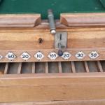 Vintage bar billiards table