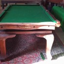 Playing surface, Riley 7ft serpentine snooker diner.