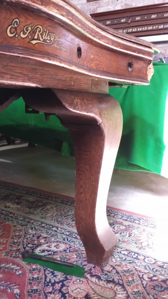 7ft Riley Serpentine Snooker Dining Table Browns