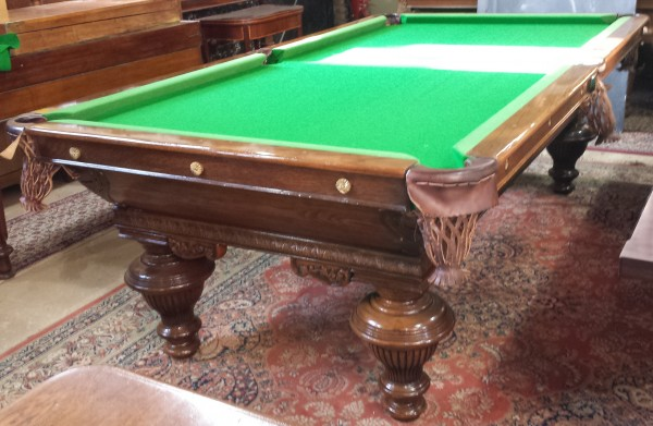 Antique Oak French Pool Table 8ft Browns Antiques