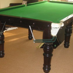 8ft mahogany snooker table for sale