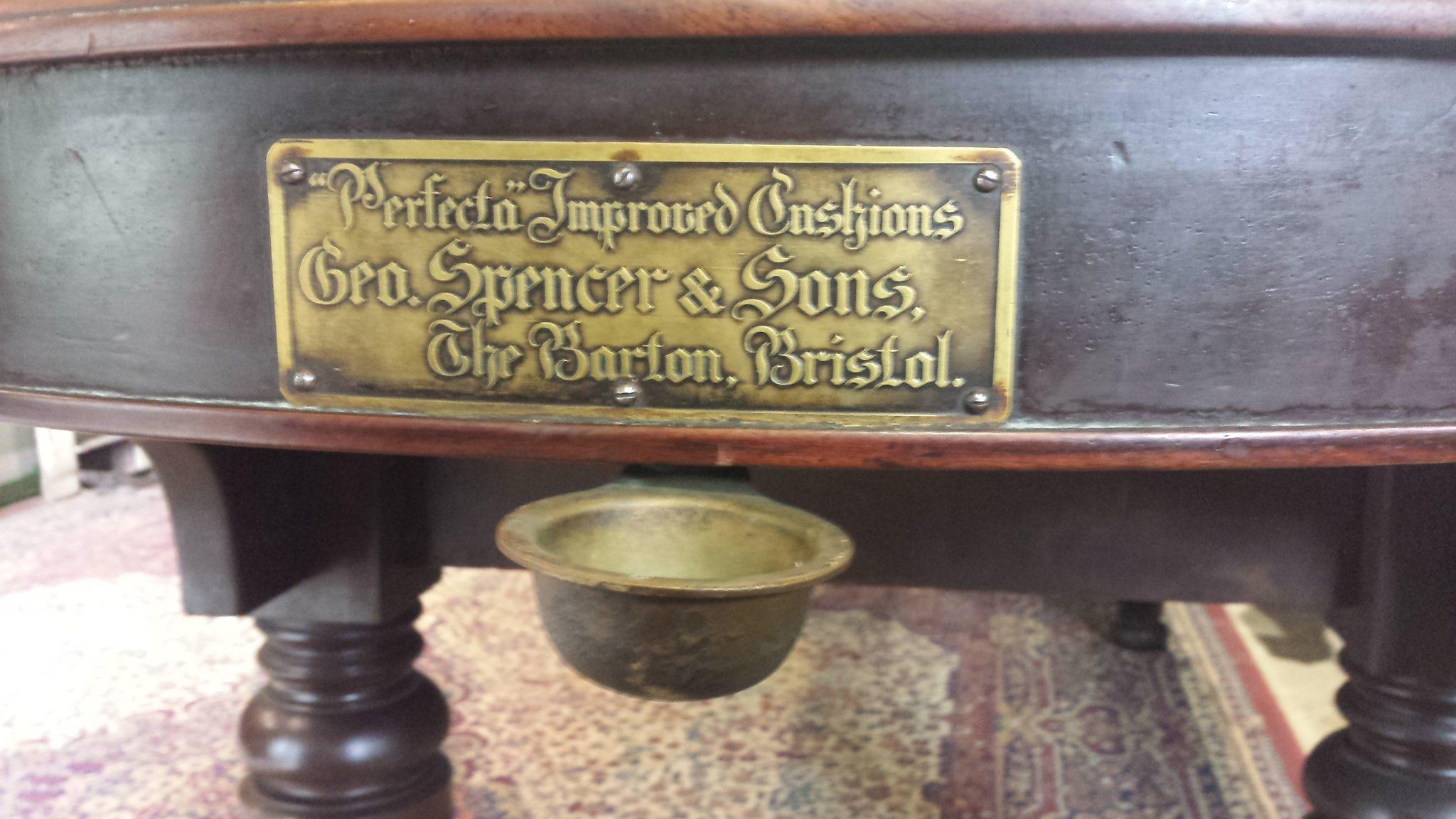 Antique Bagatelle Table 25 Browns Antiques Billiards