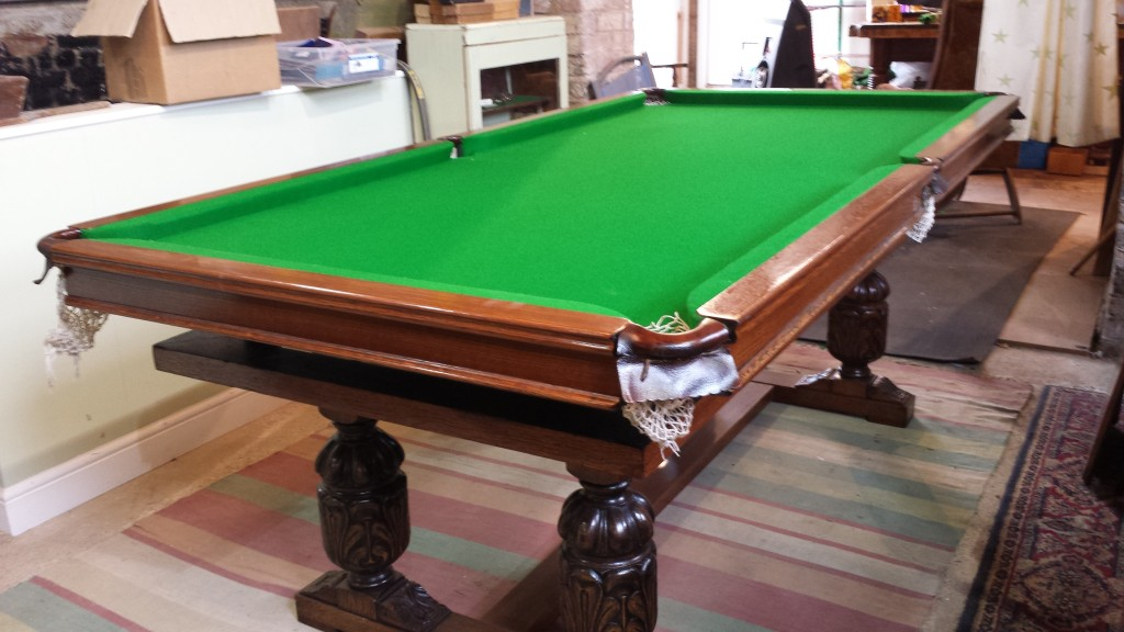 Riley Antique Refectory Snooker Dining Table Browns