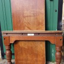 Burroughes and Watts 8ft snooker diner in oak