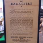Framed bagatelle rules