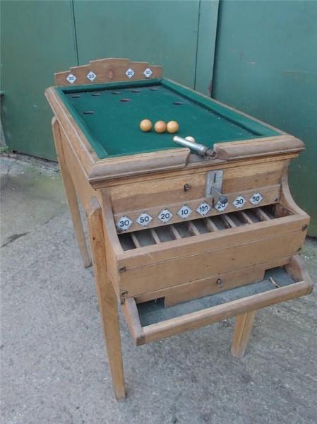 Vintage Bar Billiards Table Browns Antiques Billiards