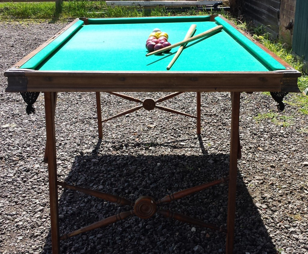 Burrowes portable billiard and pool table 6ft