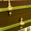 Antique roller scorebord by Thos Padmore